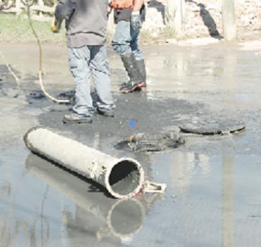 Continúa Comapa con desazolve de drenaje