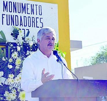 Encabeza alcalde festejos del 78 aniversario de Anáhuac