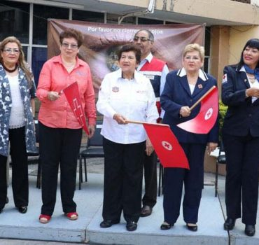 Alcaldesa pone en marcha la colecta de la Cruz Roja