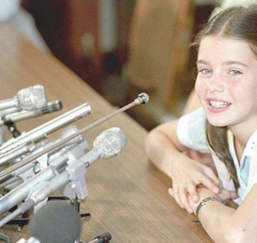 La niña que trató de impedir una guerra