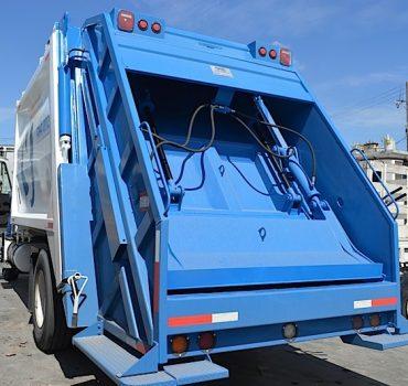 Llega el primer camión de basura a Reynosa