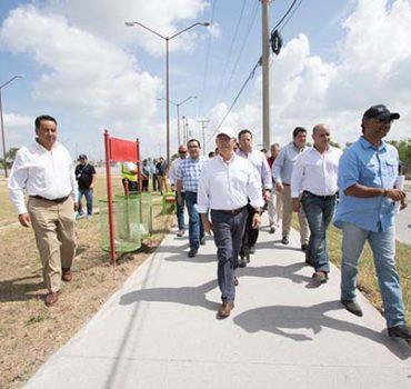 Matamoros avanza en infraestructura