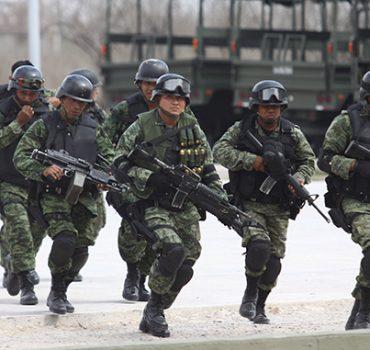 Descartan militarización total