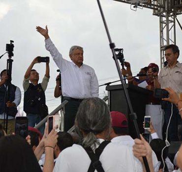 AMLO en Reynosa, todo un fenómeno