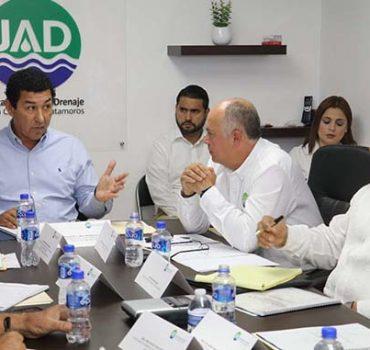 Pide alcalde Mario López no politizar la Junta de Aguas y Drenaje de Matamoros