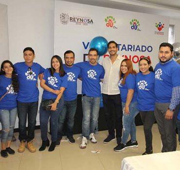 Voluntariado del DIF Reynosa tiene nueva directiva