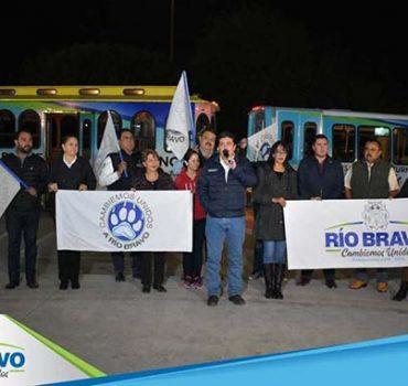 Por una mejor educación en Río Bravo