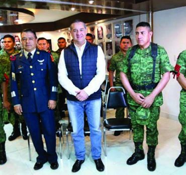 Ejército y gobierno municipal unidos por los ciudadanos